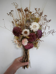 Dried flower hand tied Posy