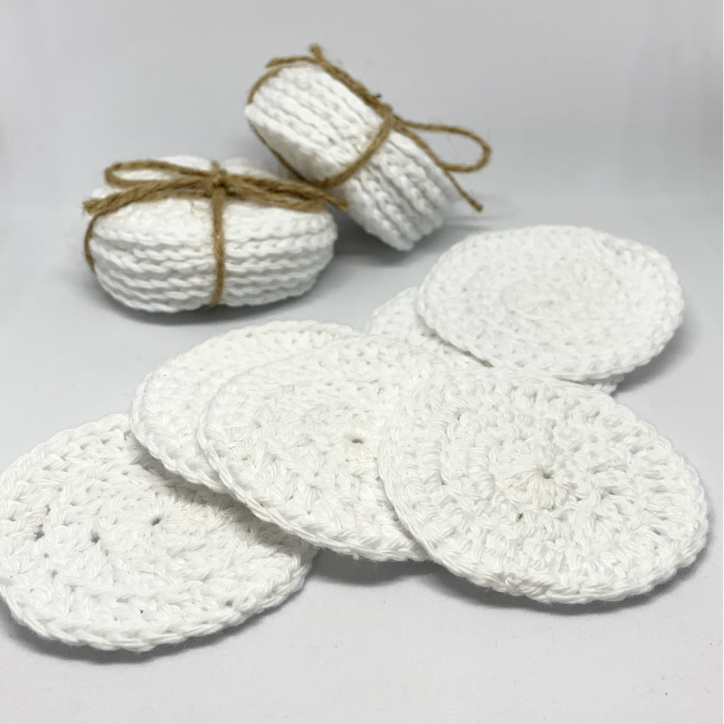 HANDMADE REUSABLE COTTON FACE PADS