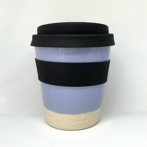 THE MILKMAN HANDMADE CERAMIC KEEP CUP, BLUE