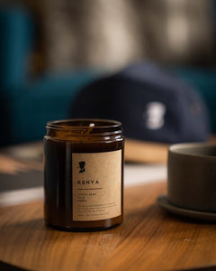 KENYA- 100% Natural Soy wax candle