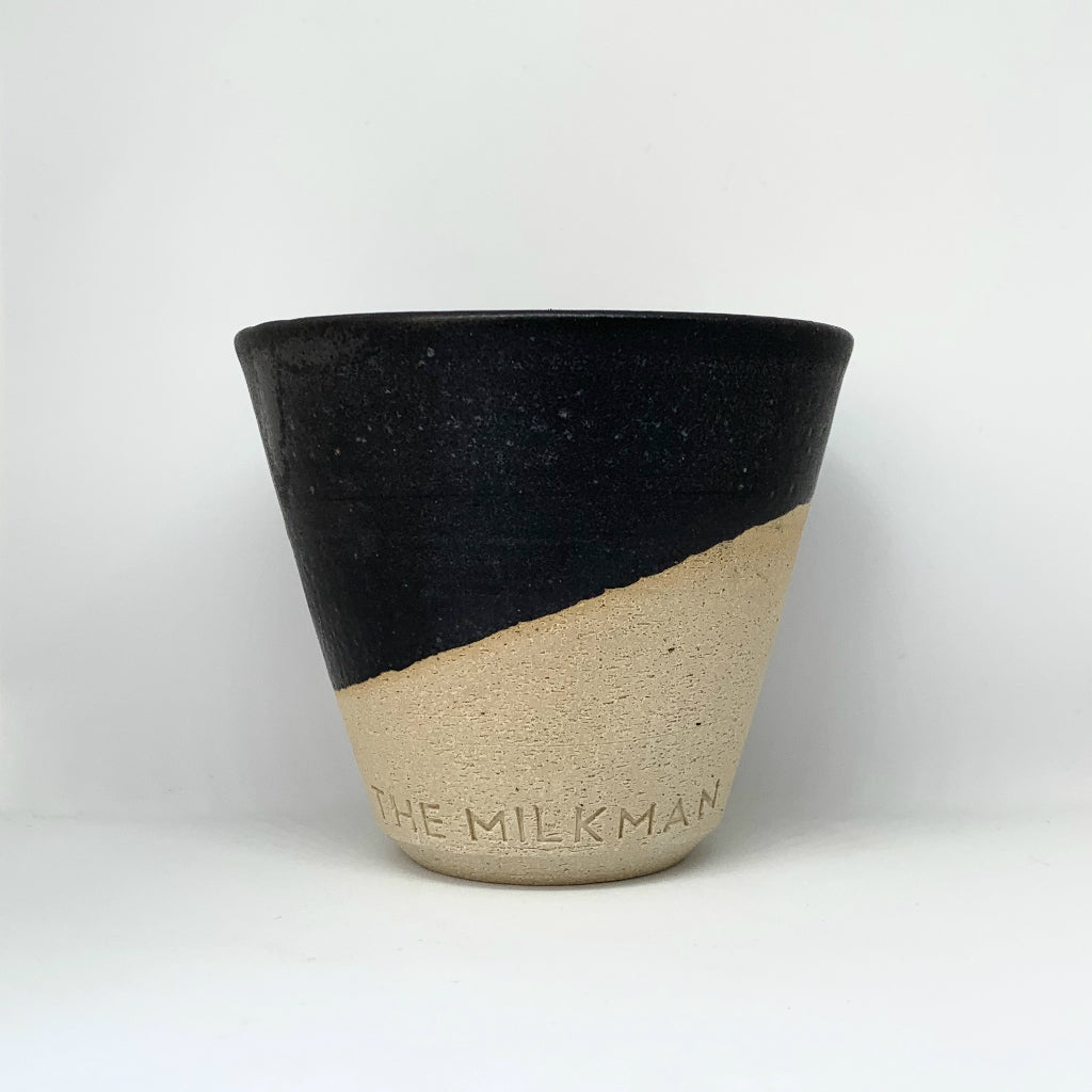 THE MILKMAN HANDMADE CERAMIC COFFE CUP