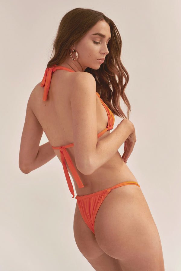 Cindy Bottom - Orange Rib