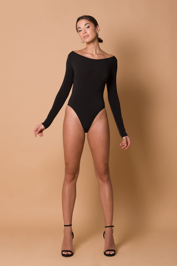 Nina Bodysuit - Black