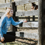 The Blessed & Foal Obsessed Sweatshirt
