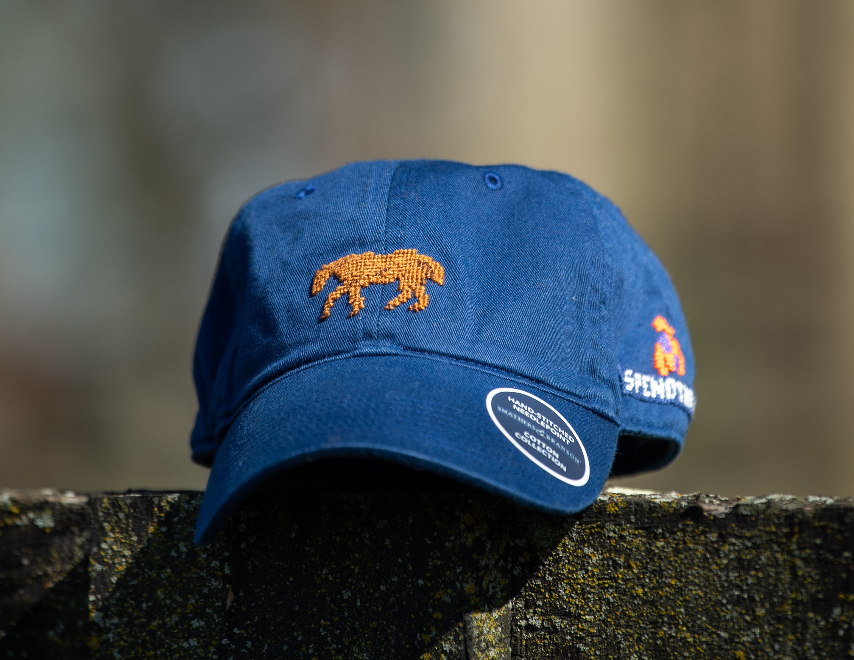 The Spendthrift Needlepoint Hat