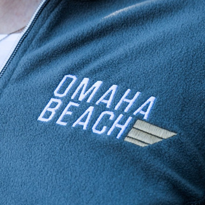 Omaha Beach Men's 1/2-Zip Pullover