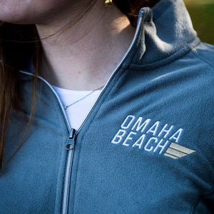 Omaha Beach Women's 1/2 Zip Pullover