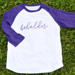 The Beholder Baseball Tee