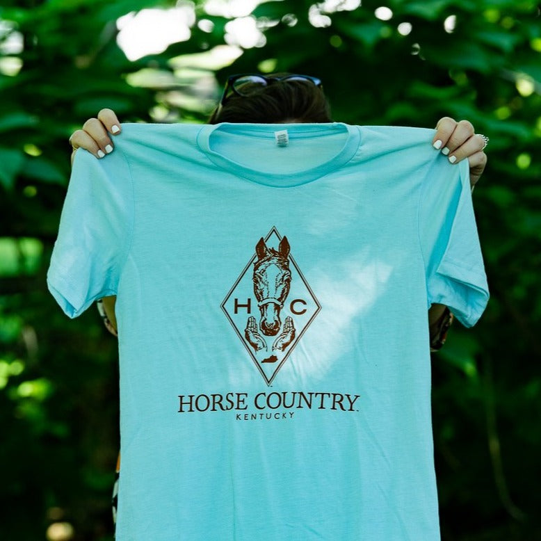 Blue Horse Country Logo Short Sleeve Shirt