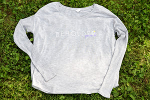 The Beholder Ladies Flowy Long Sleeve Tee