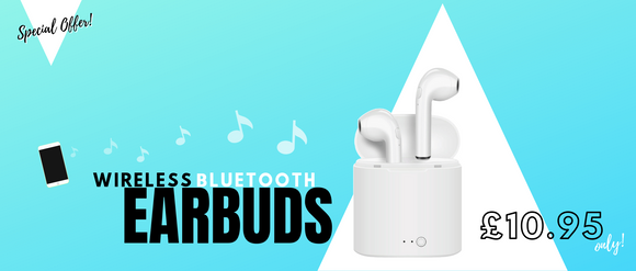 Earpods Wireless Bluetooth Earphones