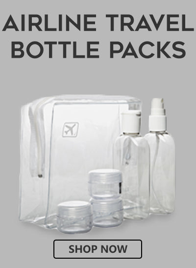 buy airline security approved clear travel bags and bottles
