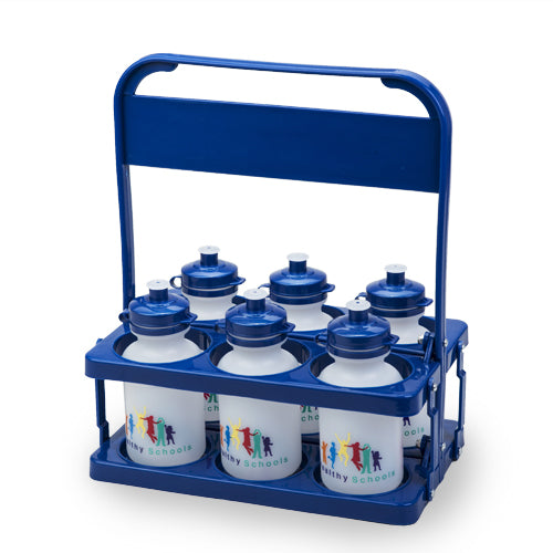 Bottle Carrier Pack with 6x 300ml School Bottles