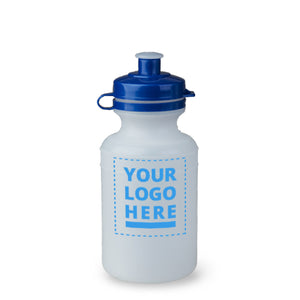 Plain / Clear Bottle - 300ml upload your own logo