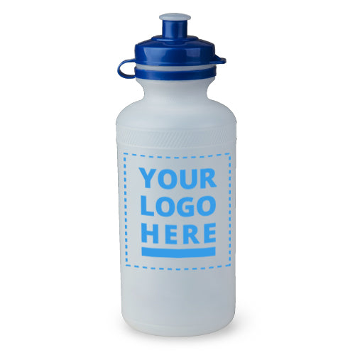 Plain / Clear Bottle - 500ml upload your own logo