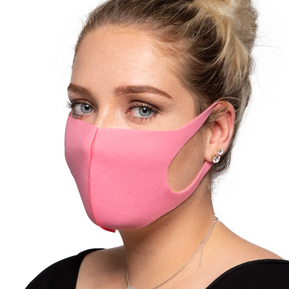 Pink Face Mask - Reusable/Washable - Wholesale Box