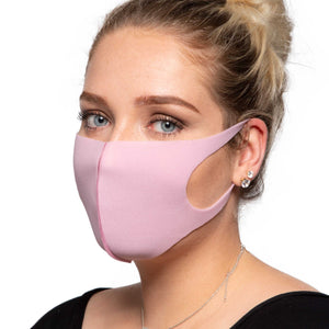 Pastel Pink Face Mask - Reusable/Washable - Wholesale Box