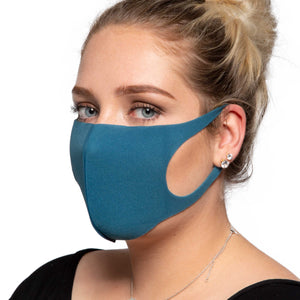 Green Face Mask - Reusable/Washable - Wholesale Box