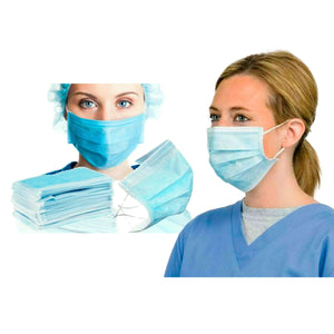 multipack 3-ply surgical face masks