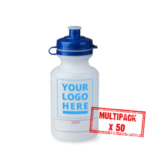 Multipack Healthy School Bottle - 50x 300ml upload your own logo