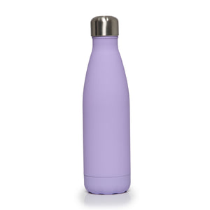 Stainless Steel Insulated Metal Sport & Gym Drinks Flask 500ml - Lilac