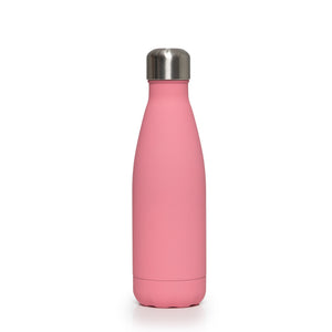 Stainless Steel Insulated Metal Sport & Gym Drinks Flask 350ml/500ml - Pink