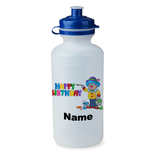 Personalised Birthday Clown Bottle - 500ml