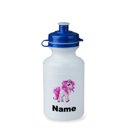 Personalised Pink Pony Bottle - 300ml