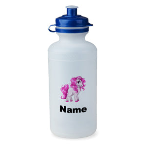 Personalised Pink Pony Bottle - 500ml
