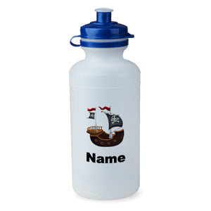 Personalised Pirate Ship Bottle - 500ml