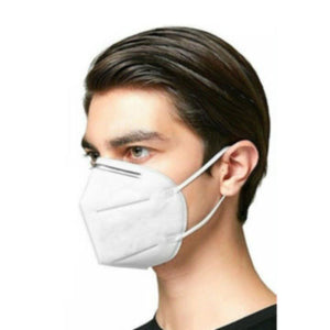 KN95 Reusable High Filtration White Face Mask