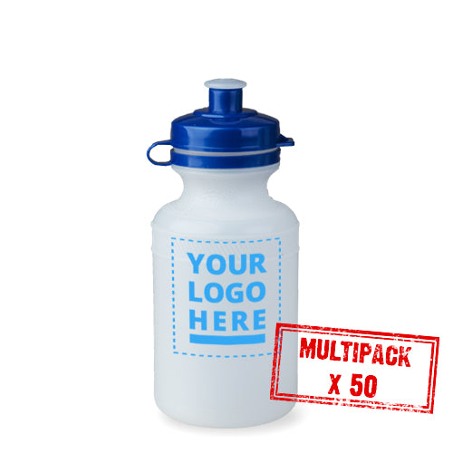 Multipack Plain / Clear Bottle - 50x 300ml upload your own logo