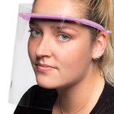 Pink Anti-Fog Full Face Shield - Wholesale Box