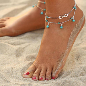 Double Infinite - Anklet