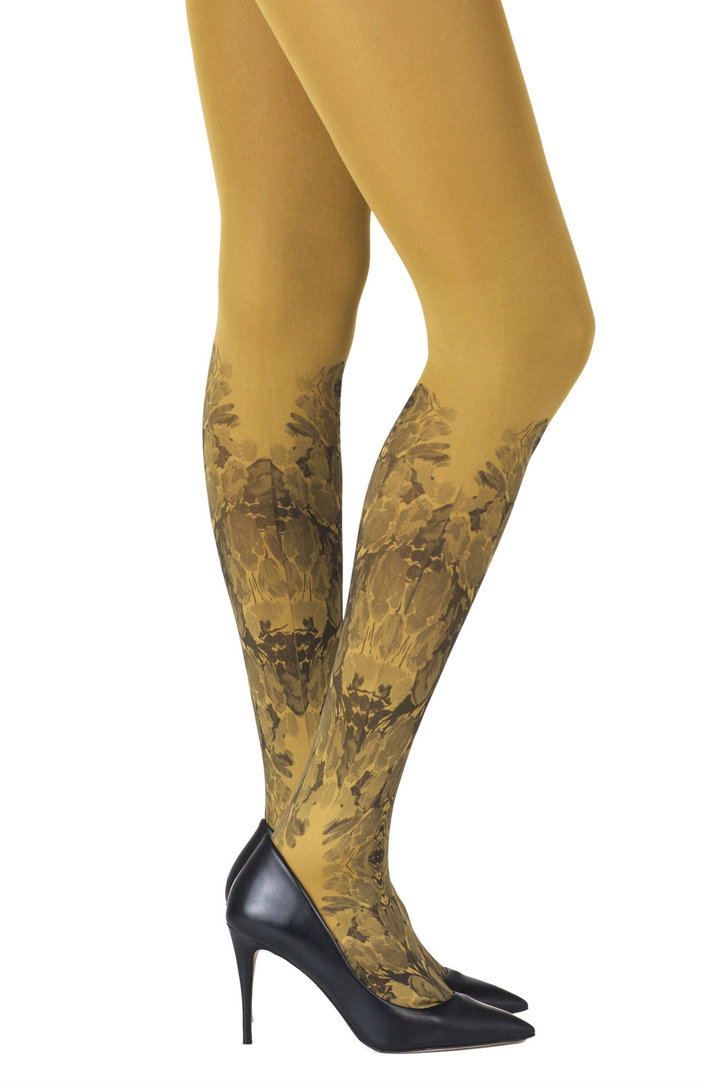 ZOHARA Totally Tulip Mustard Tights