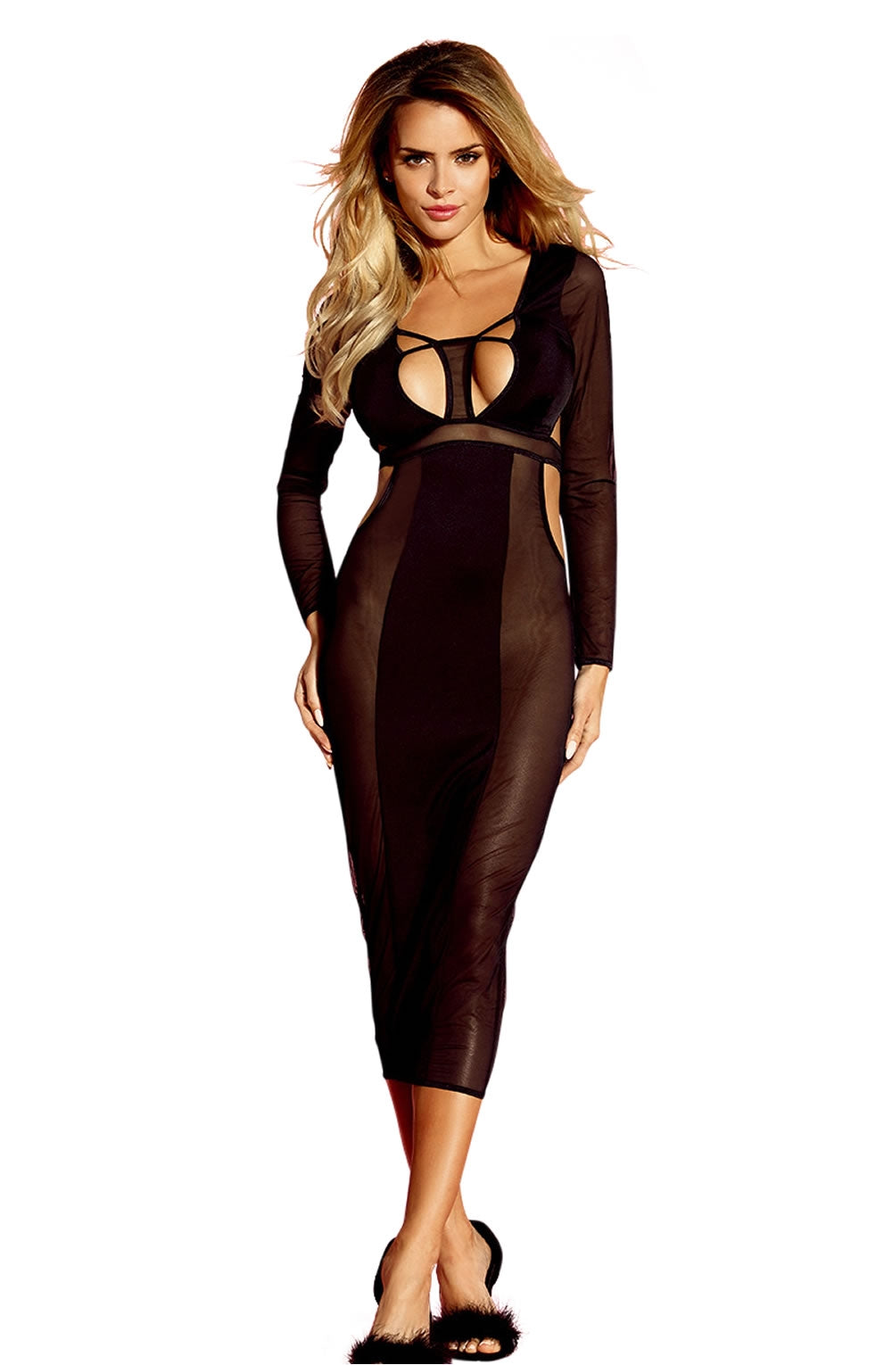 YesX Long Sleeve Dress