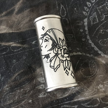 Load image into Gallery viewer, Gypsy Hand-Engraved Lighter Sleeve
