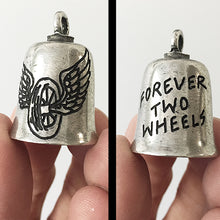 Load image into Gallery viewer, Forever Two Wheels Hand-Engraved Guardian Bell