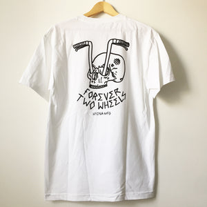Forever Two Wheels T (White)