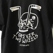 Load image into Gallery viewer, Forever Two Wheels Black T Shirt