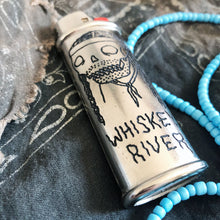 Load image into Gallery viewer, Whiskey River Hand-Engraved Lighter Sleeve