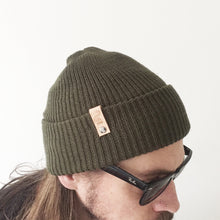 Load image into Gallery viewer, Growler Watch Cap (Olive)