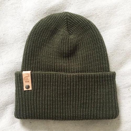 Growler Watch Cap (Olive)