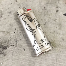 Load image into Gallery viewer, Droopy Dog Hand-Engraved Lighter Sleeve