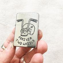 Load image into Gallery viewer, FTW Hand-Engraved Zippo (Chrome)