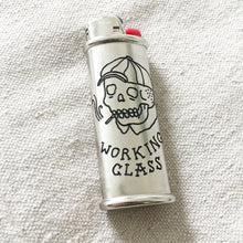 Load image into Gallery viewer, Working Class Hand-Engraved Lighter Sleeve