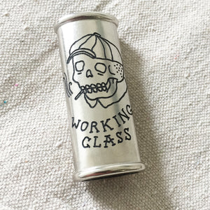 Working Class Hand-Engraved Lighter Sleeve