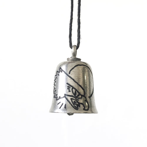 Live Free Hand-Engraved Guardian Bell