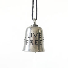 Load image into Gallery viewer, Live Free Hand-Engraved Guardian Bell