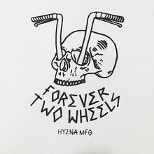 Load image into Gallery viewer, Forever Two Wheels T (White)